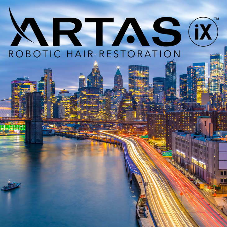 Artas hair restoration center NYC